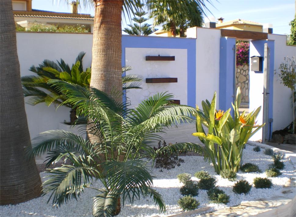 Construcción de Jardines - Beniverd Viveros